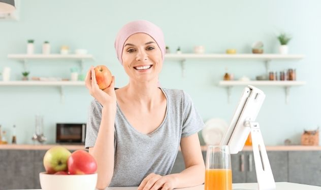 Chemotherapy and plant-based diet