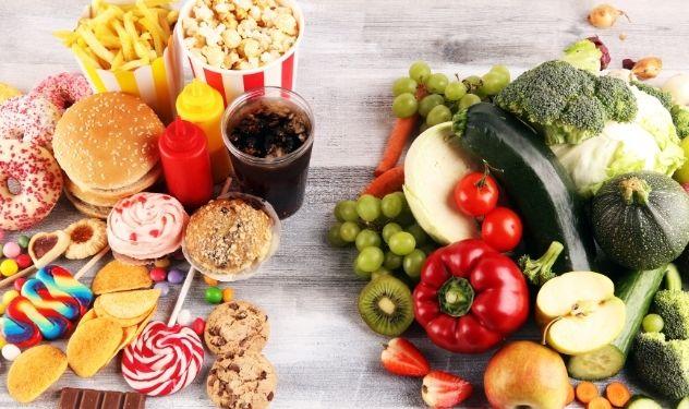 Organic Vs Inorganic plant-based food